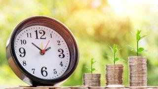 株式投資と時間